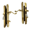 Marks Thinline Slim Line, 2750B/3, Brass, Right Hand, Mortise Entry Lever Lockset Single Cylinder Lock Set