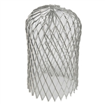 "Amerimax, 29059, 3"", Expandable Galvanized Mesh Downspout Leaf Strainer"