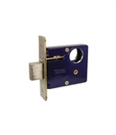 "Marks, 3/26D, Series 3 Mortise Armored Deadlock Body Brass 2-3/4"" BackSet Satin Chrome US26D, Mortise Lockset Lock Set"