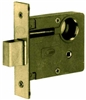 "Marks, 3/3, Series 3 Mortise Armored Deadlock Body Brass 2-3/4"" BackSet Polished Brass US3, Mortise Lockset Lock Set"