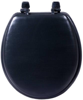 Sanderson Plumbing 3000wb Blk Black Padded Toilet Seat