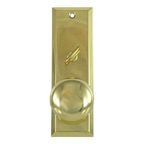 Tuff Stuff 3002 Polished Brass US3 Escutcheon Plate 2-1/4\