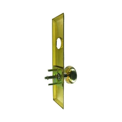 Stuff, 3021, Polished Brass US3, Escutcheon Plate 2-3/4\