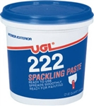 United Gilsonite UGL, 31606, 1/2 PT, 222 Spackling Paste, All Purpose, Ready To Use