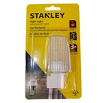 Stanley, 32100, 7 Watt 120 Volt, Basic Night Light With On - Off Switch Incandescent Bulb