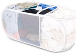 Pro Mart, 3577114, White, 3 Compartment Pop Up Sorter, With Carry Handles