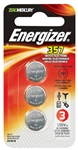 Energizer Eveready, 357BPZ-3N, 3 Pack, General Purpose, Silver Oxide, 1.5V, Watch & Calculator Battery