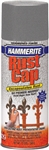 Hammerite Rust cap, 41105, 12 OZ, Silver Gray Hammered Finish, High Gloss Spray Paint