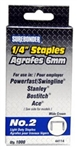 "FPC Corporation, 44114, #2 Light Duty 1/4"" Staple, 1000 Staples Per Box"