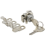 Em-D-Kay 4730 Mailbox Lock With Nut And Clip With 5 Cams And NA14 Keyway