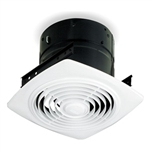 Broan, 504, Bathroom, Kitchen, 10 Inch Vertical Discharge Utility Exhaust Fan, Ceiling, 350 CFM, 6.5 Sones