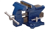 Wilton 50504 Workshop Vise with Swivel Base, 4-1/2-in Jaw Width, 4-in Jaw Opening, 2-3/8-in Throat