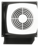Broan Model 509S 8 Inch Through Wall Utility Fan with Integral Rotary Switch, 180 CFM, 6.5 Sones