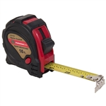 "Tuff Stuff 51112 3/4"" x 16' Rubber Covered Magnetic Tipped Tape Measure With Quick Lock And Easy Read Measurements"