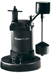 Pentair Water - Master Plumber, 539906, 1/3 HP, Plastic, Mechanical Submersible Sump Pump