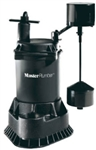 Pentair Water Master Plumber, 540037, 1/3 HP, Cast Iron, Automatic Submersible Sump Pump