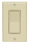 Leviton, 5672-2, Ivory LIGHTED Illuminated Decora Rocker Wall Switch Single Pole