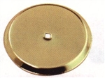 "Ultra Hardware, 57600, 2-3/4"", Polished Brass, Cabinet Knob Round Back Plate BackPlate"