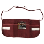 Tuff Stuff, 59611, Red, 7 Pocket Canvas Tool Waist Apron