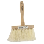 "Linzer, 607, 6-1/2"" x 1-5/8"" Massonry & Roof Brush, Hardwood Block Handle"