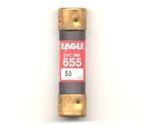 Eagle Electric, 655-50 (Cooper Bussmann NON-50 Like), OneTime 250V Eagle Fuse 50 Amp