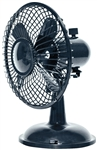 "Comfort Zone, CZHV4, 1 Fan 4"" Desktop Adjustable, High Velocity Cradle Fan, Dual Powered, Assorted Colors"