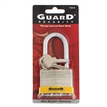"Guard Security, 750LS, 2"", Laminated Steel Padlock, With 2-1/4"" Long Shackle"