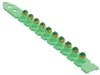 Remington, Desa, 78754, 100 Pack, .25 Caliber, Green Strip Load #3