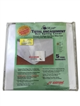 "JT Eaton 80TWXLBOX Lock-Up Twin Extra Long 39"" x 80"", Box Spring Encasement Cover Certified Bedbug Proof"