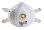 MSA Safety Works, 817626, Harmful Dust Respirator With Exhalation Valve, Industrial Grade