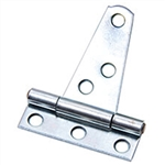 "Tuff Stuff 86252 Zinc Plated Standard Duty 2"" T-Hinges (1 Pair)"