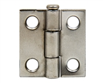"Tuff Stuff 86710DC Dull Chrome 1"" Loose Pin Utility Hinge With Screws (1 Hinge)"