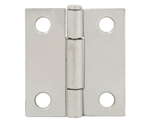 "Tuff Stuff 86715DC Dull Chrome 1-1/2"" Loose Pin Utility Hinge With Screws (1 Hinge)"