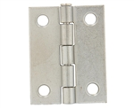 "Tuff Stuff 86720DC Dull Chrome 2"" Loose Pin Utility Hinge With Screws (1 Hinge)"