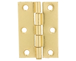 "Tuff Stuff 86725 Polished Brass Plated 2-1/2"" Loose Pin Utility Hinge With Screws (1 Hinge)"