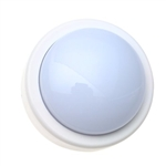 "Bright Way 871LED White 5-1/2"" LED Touch Tap Light Round Battery Operated"