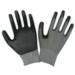 H.B. Smith Tools, 943, Large / Extra Large, Mens, Black, Nitrile Coated Palm Glove, Utility Glove