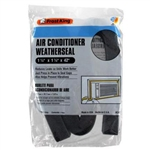 "Thermwell Frost King AC42H Air Conditioner Weatherseal 1-1/4"" x 1-1/4"" x 42"" NON Adhesive Strip Gray"