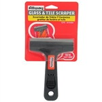 Allway Tools GTS 4 inch Glass And Tile Scraper, with Soft-Grip Handle