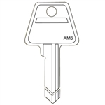 Jet AM6 New Bow Style 5 Pin Key Blank For American Lock Junkunc PTKB-1 Keyway