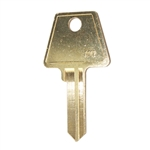 Jet AM7 New Bow 6 Pin Key Blank For American Lock Junkunc PTKB-1 Keyway