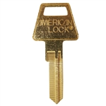 Jet AM7L 6 Pin Long Style Key Blank For American Lock Junkunc PTKB-2 Keyway