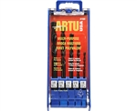 "Artu USA 1505 5 Piece Multi Purpose Drill Bit Set 1/8"", 3/16"", 1/4"", 5/16"", And 3/8"""
