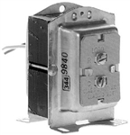 Honeywell, AT72D-1683, universal Step Down mount foot, plate, clamp Transformer, Knockout Mount, 40 VA 110 V AC Input 24 V AC Output