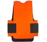 Exo Pro, BA135, Large / Extra Large, Orange Blaze, Waterproof & Windproof Neoprene Cold Weather Body Armor Thermal Vest