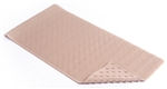 "KITTRICH, BMAT-C4V08-04, 18"" x 36"", XL, Taupe, Wave Rubber Bath Mat, Soft"