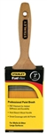 "Stanley FatMax, BPST02535, PBT 3"" Beavertail Flat Sash Professional Paint Brush"