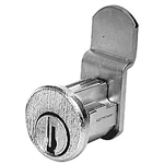 CompX C8711 Bright Nickel US14 Mailbox Lock With Clip Replaces Bommer Style Locks