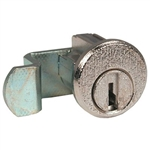 CompX C8713 Bright Nickel US14 Mailbox Lock With Clip Replaces Auth Electric Style Locks