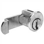 CompX C8714 Bright Nickel US14 Mailbox Lock With Clip Replaces American Device Style Locks